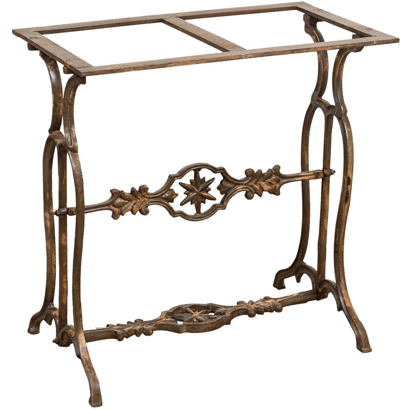 Image of Cast Iron Table Base With Antique Finish