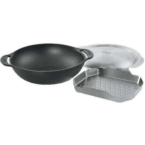 Cast iron WEBER Wok WEBER for Gourmet BBQ System