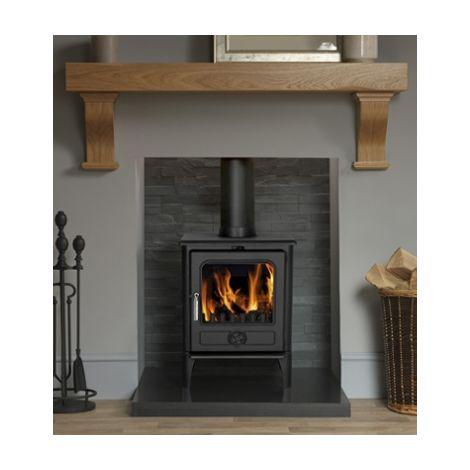 Cast Tec Norvik 5 Wood Burning / Multi Fuel Defra Approved Stove