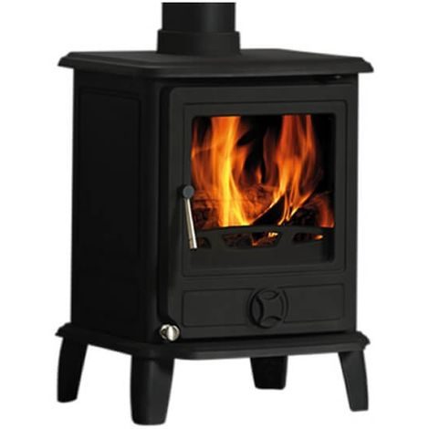Cast Tec Puma 5 Wood Burning / Multi Fuel Defra Approved Stove