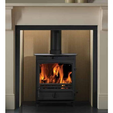 Cast Tec Vulcan 8 Wood Burning / Multi Fuel Defra Approved Stove