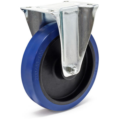 Caster Wheel in with Mounting Bracket, Wheel Ø of 200 mm and Carrying Capacity of 350kg