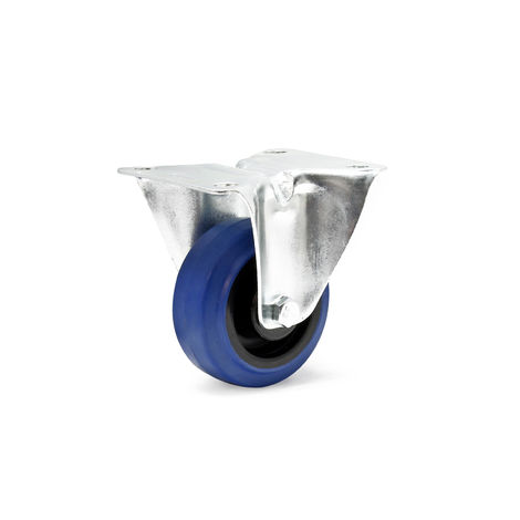 Caster Wheel in with Mounting Bracket, Wheel Ø of 80 mm and Carrying Capacity of 150kg