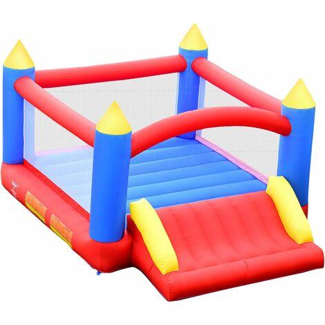 Castillo Hinchable para Niños Parque Infantil 3,6x2,8x2m Centro de Actividades para Niños para Patio Jardín Interior y Exterior