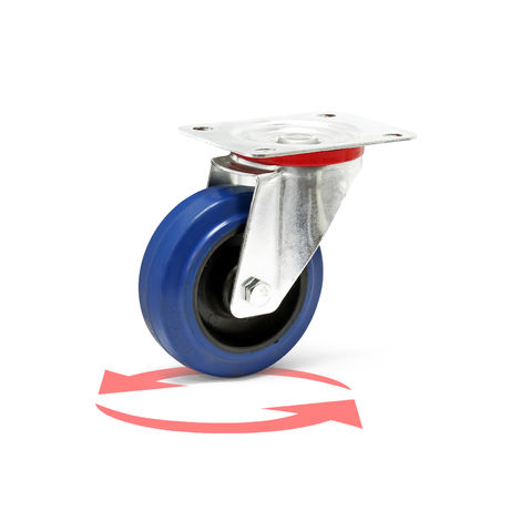 Castor Wheel with Mounting Bracket, Wheel ? of 100 mm and Carrying Capacity of 160kg