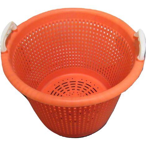 Castro 44 Litre Orange Basket - Large Graduated Fishing Camping Storage