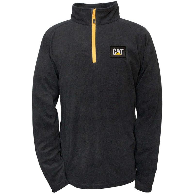 Image of CAT 1310031 Men's Concord Fleece Pullover - Black Size XXL