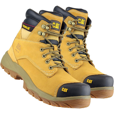 Cat Caterpillar New Spiro S3 Waterproof Safety Boot Honey Size 7