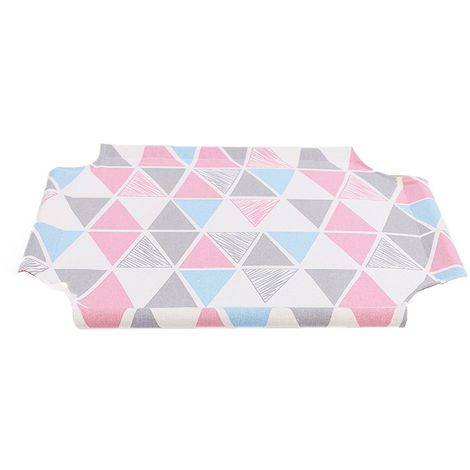 Cat Hammock Canvas Fitting for Elevated Cat Bed, Pink and Blue