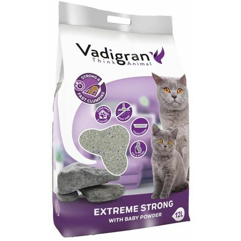 Cat litter bentonite extreme strong 12kg-12L