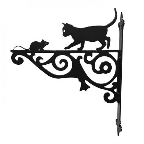 Cat & Mouse Ornamental Bracket