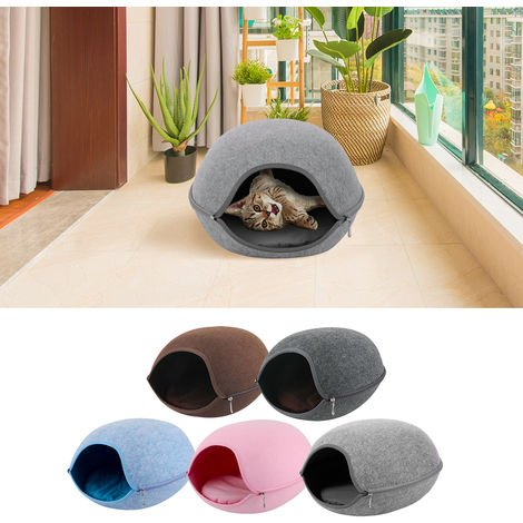 Cat Pet Cave Bed for Cats Kittens Pets