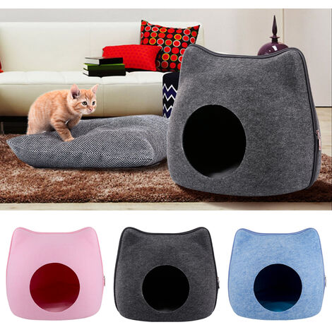 Cat Pet Cave Cat Cave Bed Cat Bed for Cats Kittens Pets