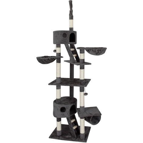 Cat Scratching Tree Ceiling High Activity Centre Post Sisal Kitten Scratcher New
