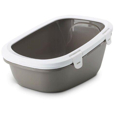 cat tamis Simba sablière | Grand plateau de sable | bac à litière pour les chats WC