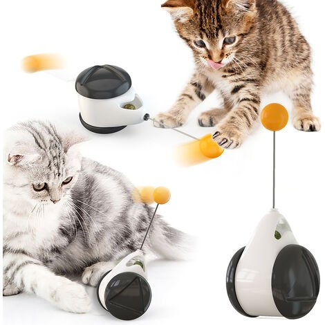 Cat Toy Chaser Balanced Cat Chasing Toy Interactive Kitten Swing Toy