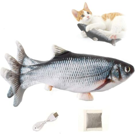 Cat Toy, Fish Toy, USB rechargeable electronic fish toy simulation
