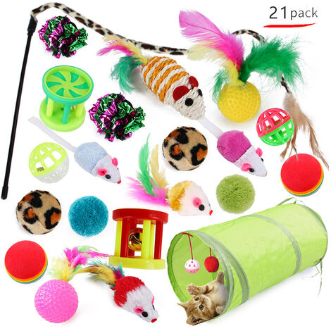 """main image of """"Cat Toys, Cat Toys, Cat Toys and Kitten, 21 Rooms (Image Style will be randomly sent)"""""""