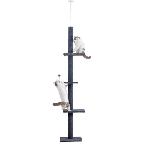 Cat Tree Cat Activity Tree Cat Scratching Tree Black