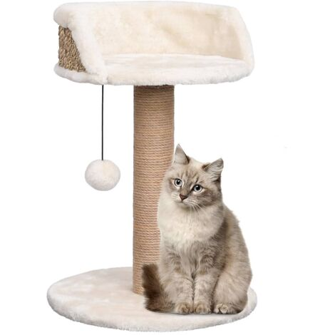 Cat Tree with Scratching Post 49 cm Seagrass