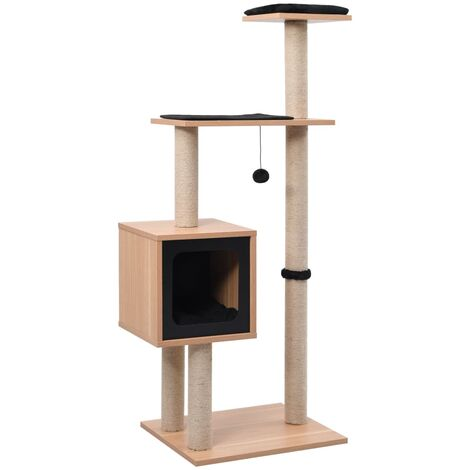 Cat Tree with Sisal Scratching Mat 123 cm