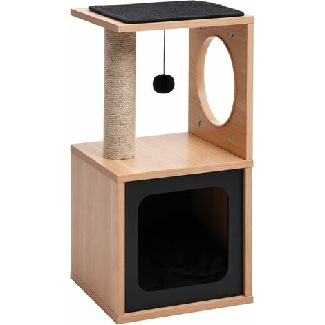 Cat Tree with Sisal Scratching Mat 60 cm
