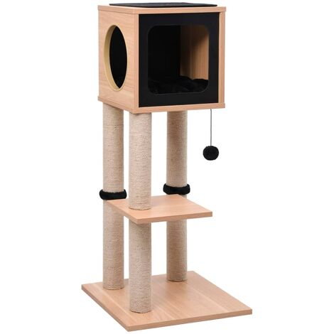 Cat Tree with Sisal Scratching Mat 90 cm