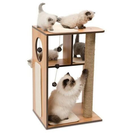 Cat vesper v box small naturel