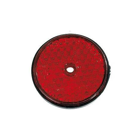 """main image of """"Catadioptre Rouge a Visser - Diam 60 mm"""""""