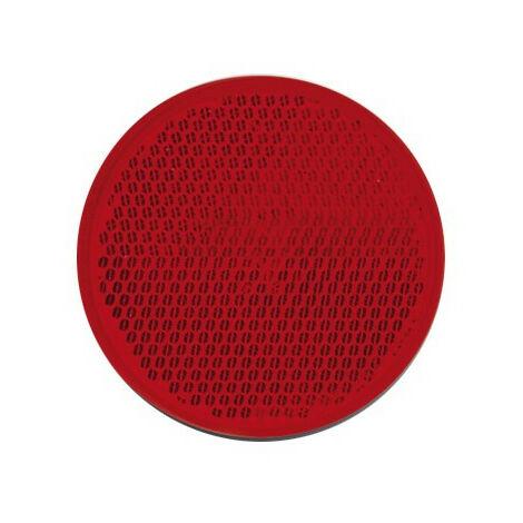 "main image of ""Catadioptre Rouge Adhesif - Diam 60 mm"""