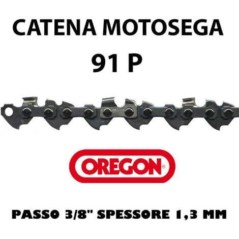 """main image of """"CATENA PER MOTOSEGA - OREGON 91P 3/8"""" Basso Profilo - 1,3 mm"""""""