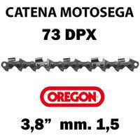 """CATENA PER MOTOSEGA - OREGON 73DPX 3/8"""" - 1,5 mm"""