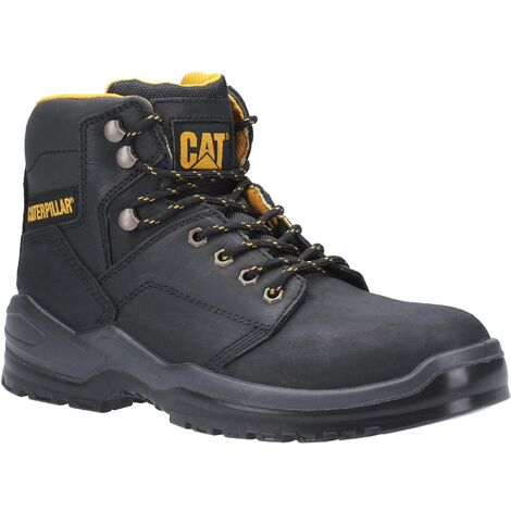Caterpillar Mens Striver Lace Up Injected Leather Safety Boot