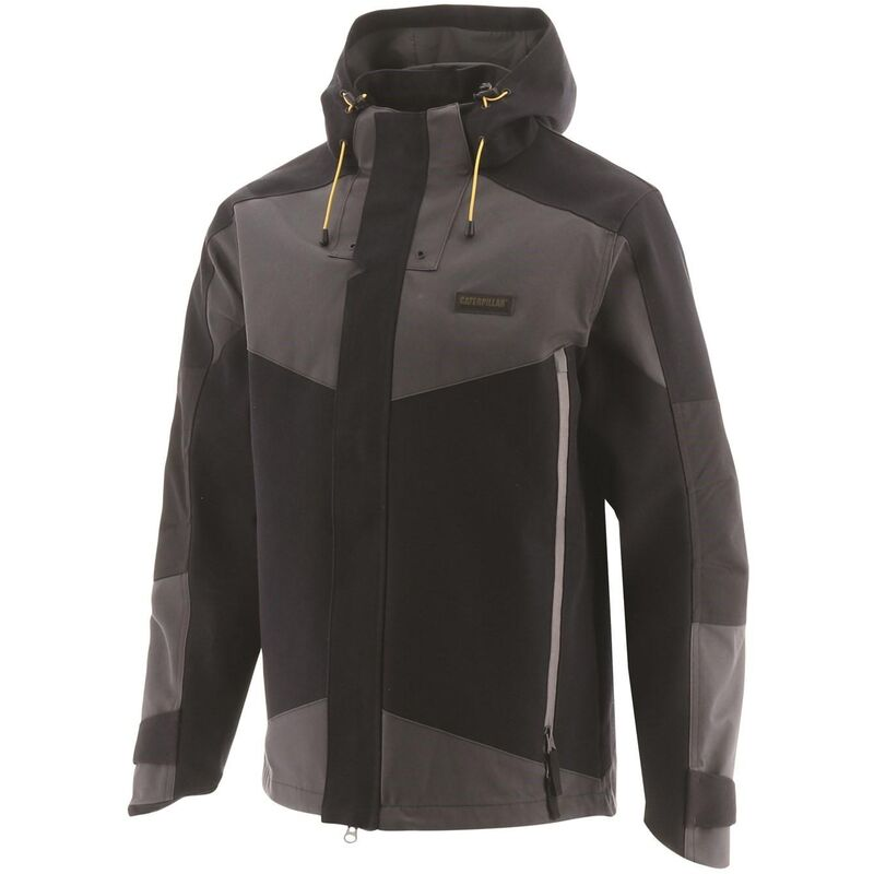 Image of Mens Triton Workwear Jacket (S) (Black) - Caterpillar
