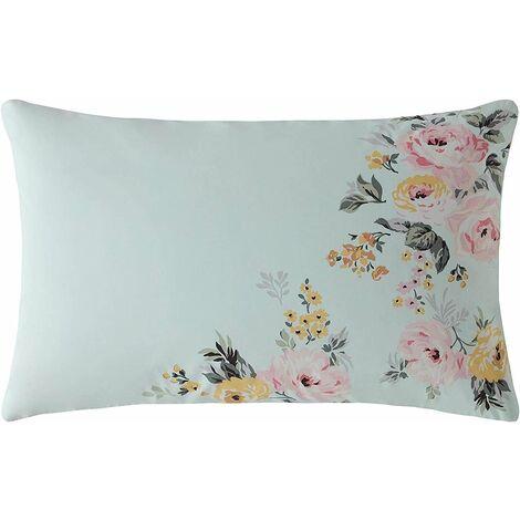 Cath Kidston Vintage Bunch Mint Floral Duvet Cover Set Standard pillowcase Pair 50cm x 75cm