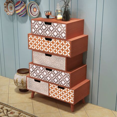 Cathie 6 Drawer Chest by Bloomsbury Market - Brown