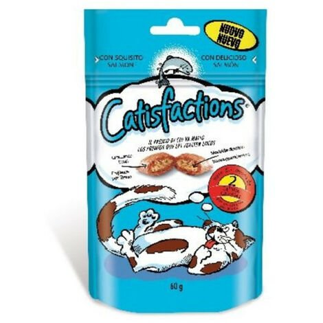CATISFACTIONS SALMON 60GR