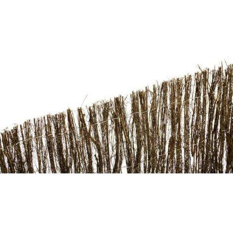 CATRAL Clôture naturelle en brande 1.5 cm - 1 x 5m