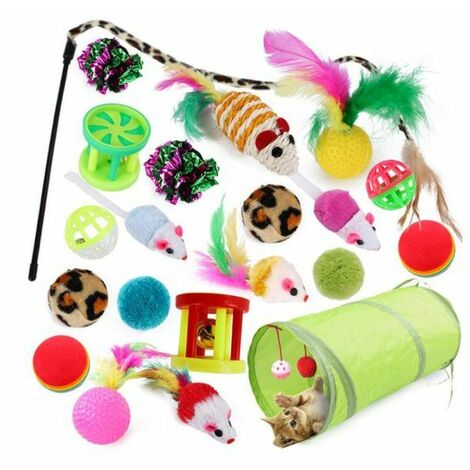 Cats Toys Play Set