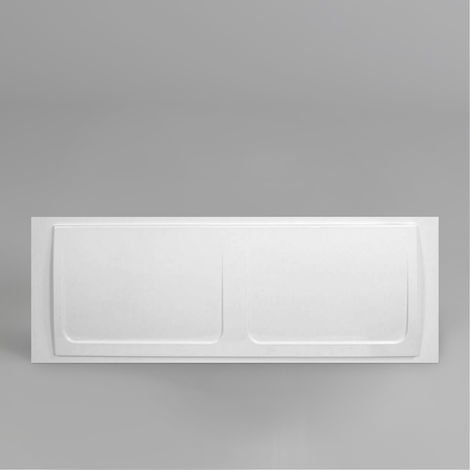 Cavalier Bathroom High Gloss White Acrylic Modern Front Bath Panel 700mm X 1700mm