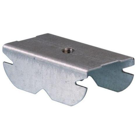 Cavalier incliné pour suspension de fourrure par tige boîte de 100 pièces.