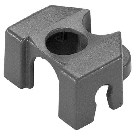 Cavalier tuyau micro-drip 4,6mm blister 5 pces