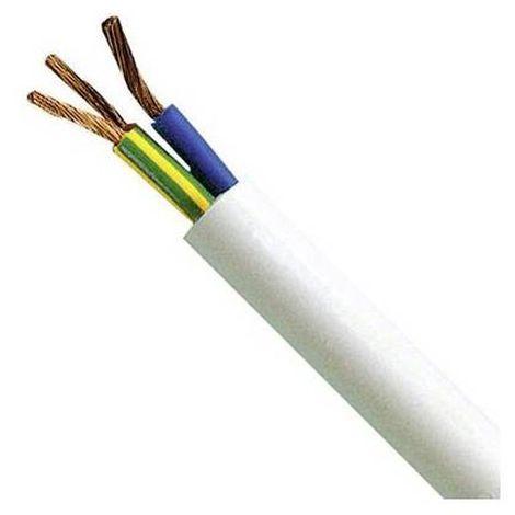Cavo elettrico multipolare per automobile // rimorchio 5m 10m 2 poli 2 x 0.35 mm/² cavo tondo 20m o 50m selezione: 50m metri