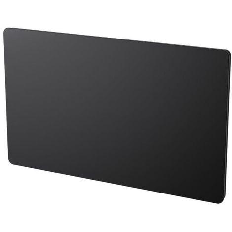 CAYENNE KLAAS LCD 1500 WATTS - RADIATEUR ÉLÉCTRIQUE PANNEAU RAYONNANT PROGRAMMABLE - FAÇADE EN VERRE NOIR