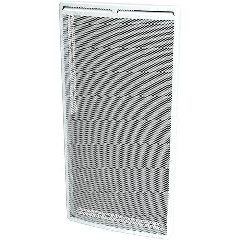 Cayenne panneau rayonnant 2000W vertical bombé LCD - Blanc