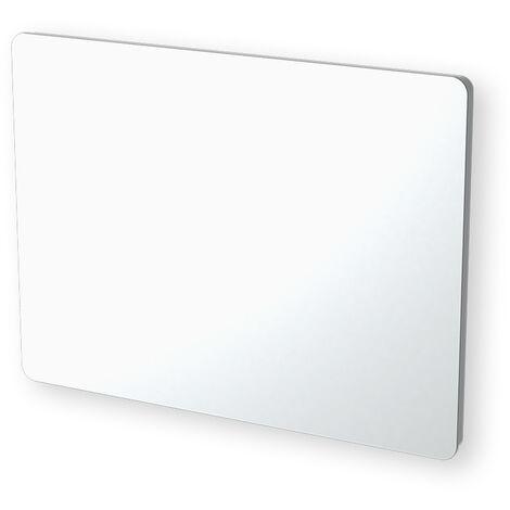 Cayenne panneau rayonnant 1000W verre blanc LCD - Blanc