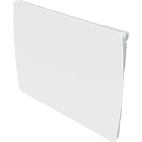 Cayenne radiateur à inertie céramique 1500W verre blanc LCD - Blanc