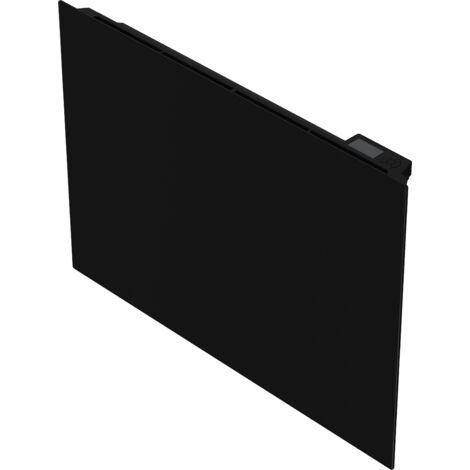 Cayenne Radiateur à inertie Céramique Verre Noir LCD - plusieurs puissances disponibles