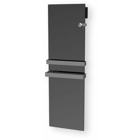 Cayenne radiateur sèche-serviette 1100W verre miroir LCD