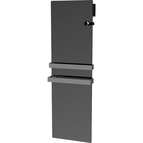 Cayenne radiateur sèche Serviette VERRE MIROIR 1100W LCD